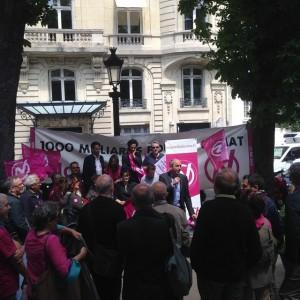 Larrouturou remercie les militants cpossible