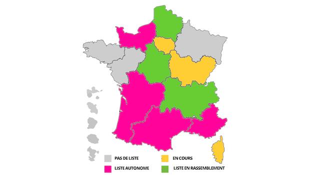Régionales 2015: les adhérents aux manettes