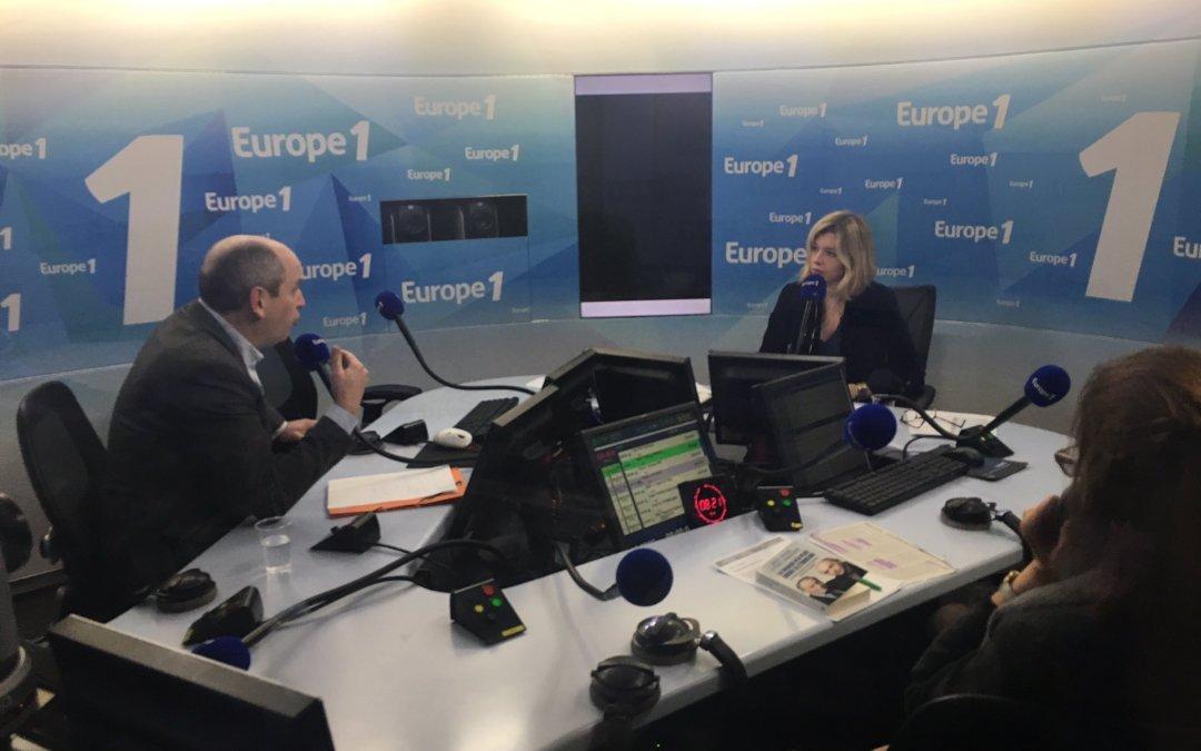 """""""Nous ne pouvons plus être spectateurs : soyons acteurs du changement à gauche"""" : Nouvelle Donne sur Europe 1"""