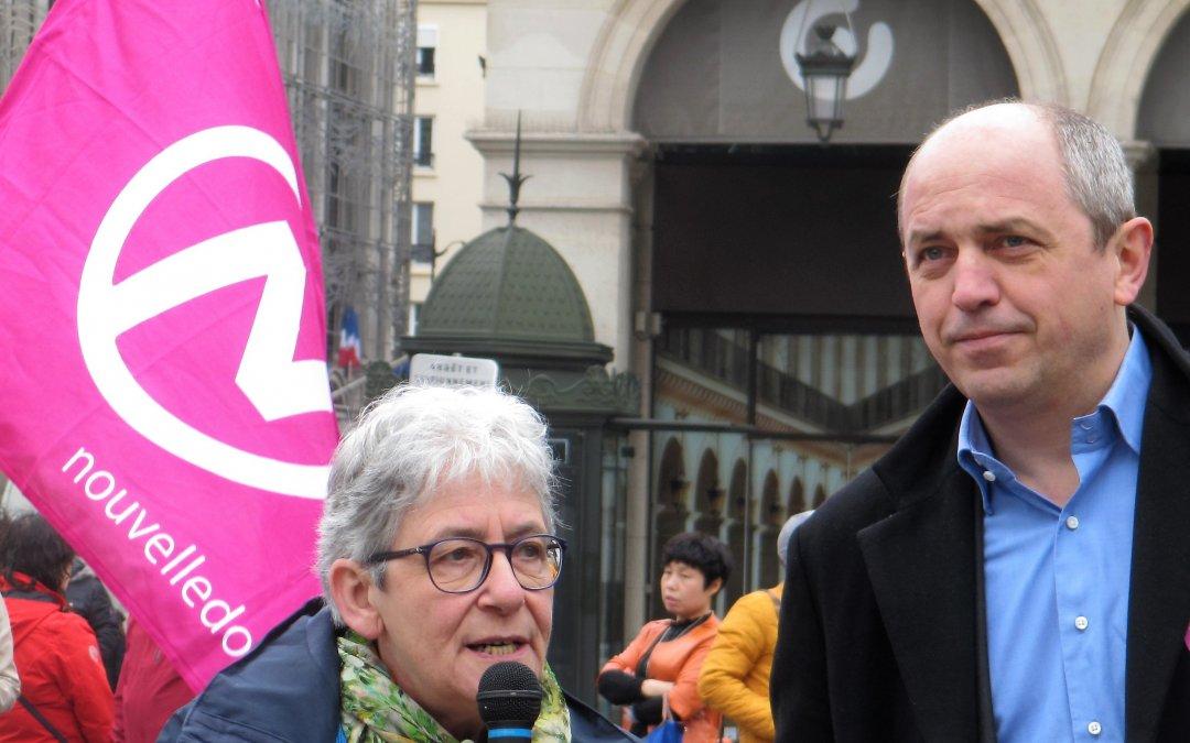 Tribune de Anne Hessel sur l'union de la gauche