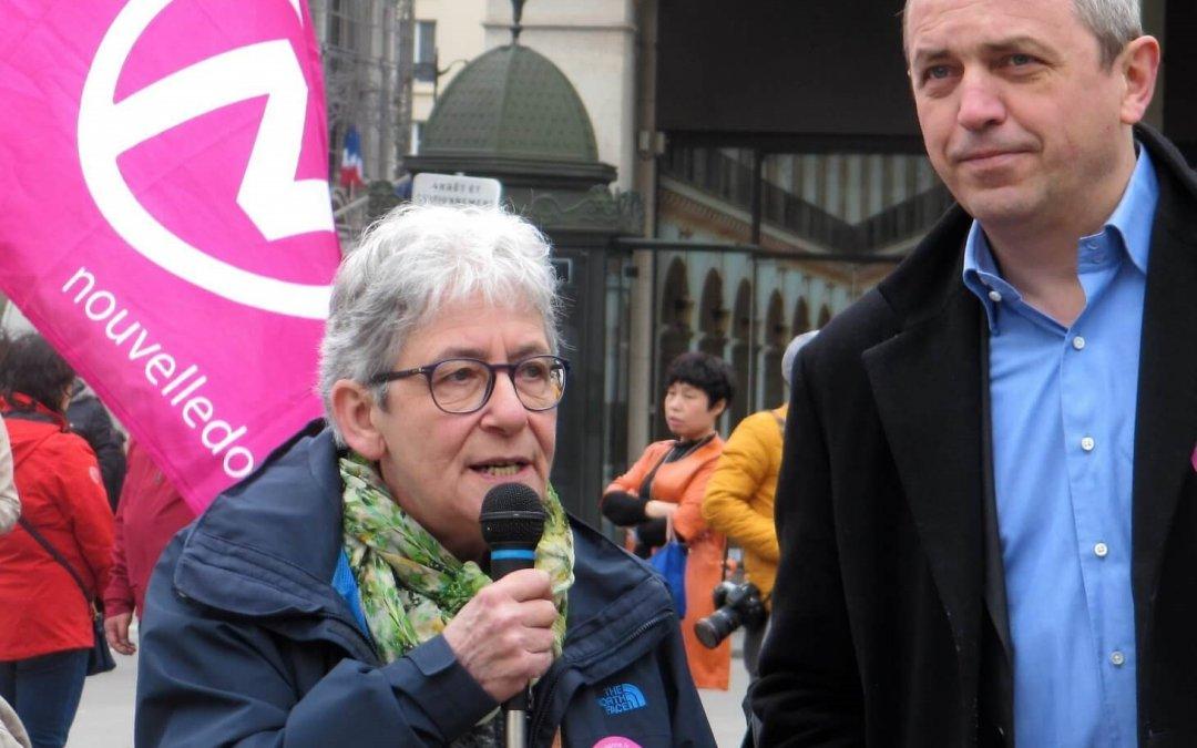 Anne Hessel et Pierre Larrouturou présidents d'honneur de Nouvelle Donne