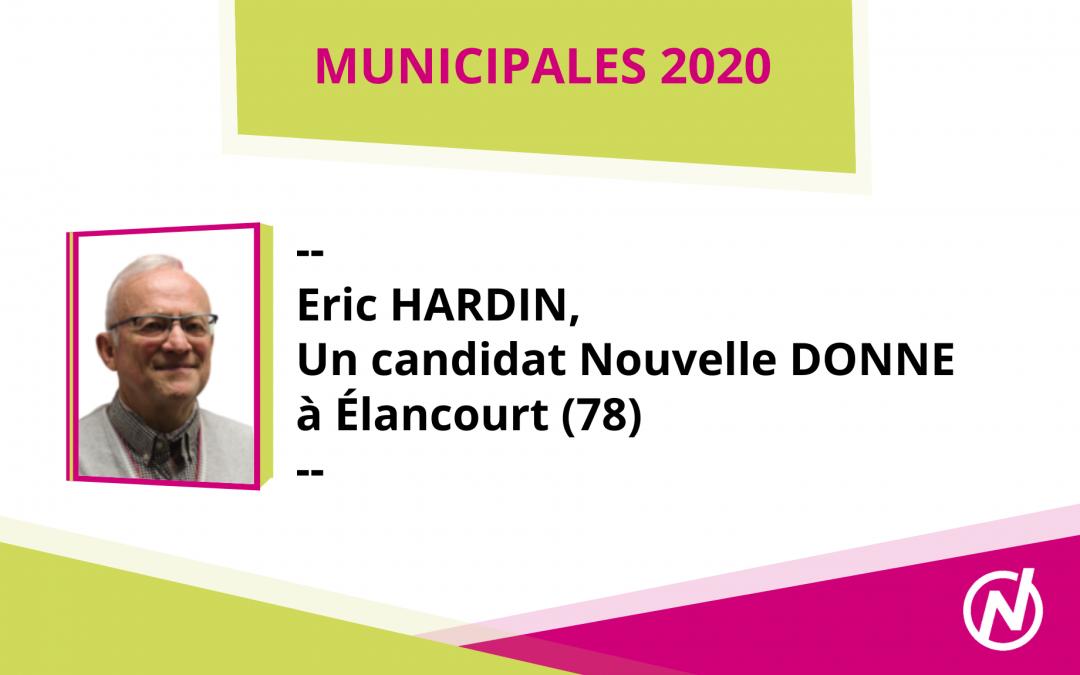 Eric HARDIN – Candidat – Municipales 2020 – Élancourt