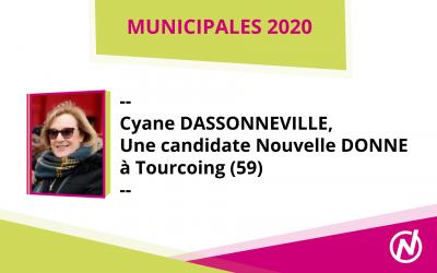 Cyane DASSONNEVILLE – Candidate – Municipales 2020 – Tourcoing
