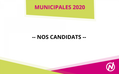 Nos candidats – Municipales 2020