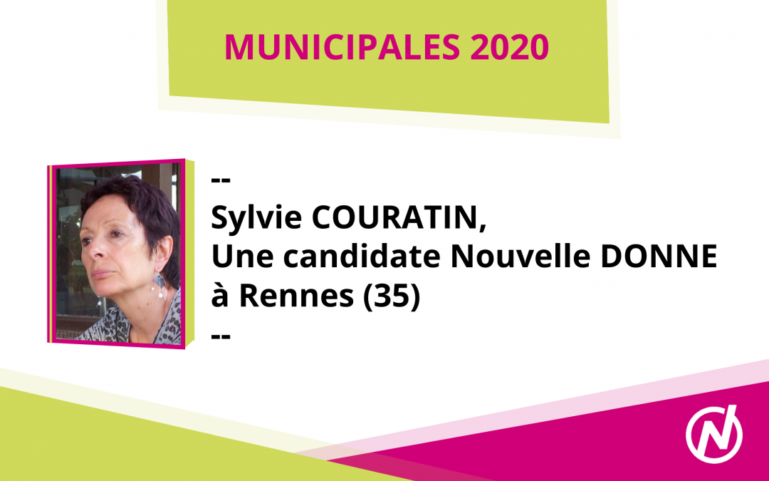 Sylvie COURATIN – Candidate – Municipales 2020 – Rennes