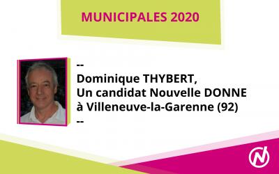Dominique THYBERT – Candidat – Municipales 2020 – Villeneuve-la-Garenne