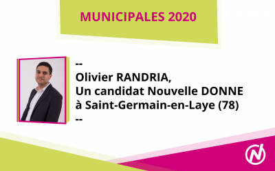 Olivier RANDRIA – Candidat – Municipales 2020 – Saint-Germain-en-Laye