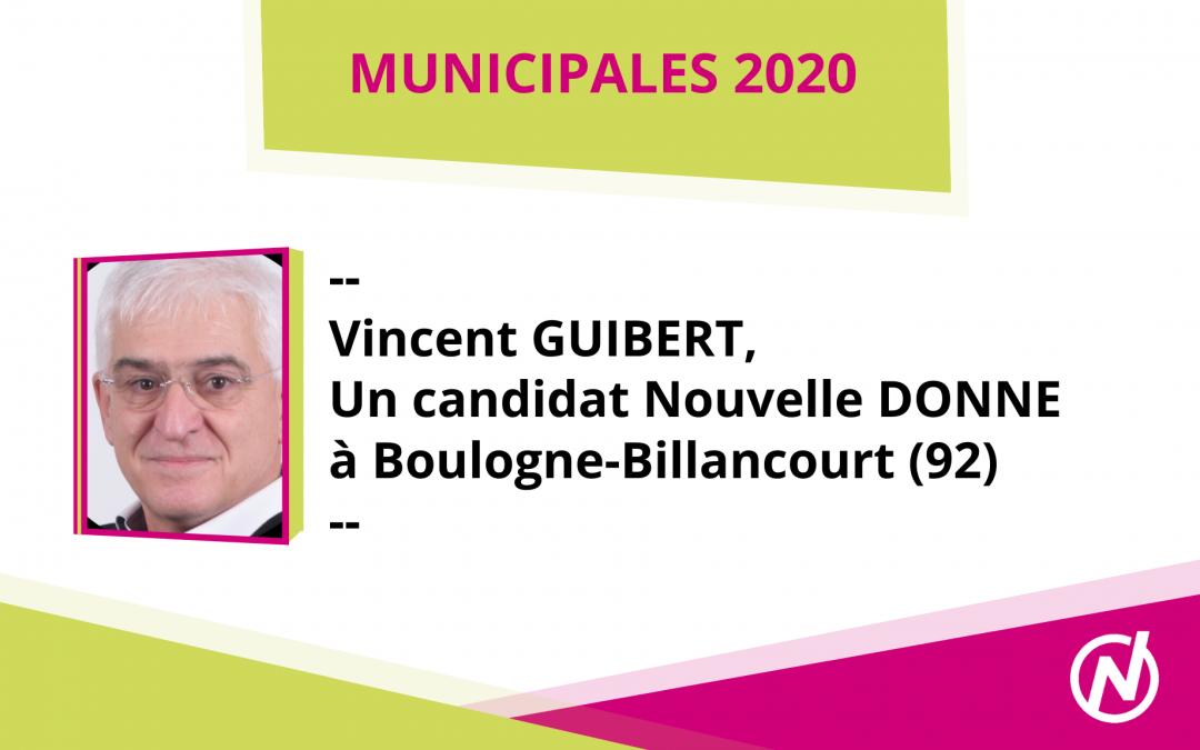 Vincent GUIBERT – Candidat – Municipales 2020 – Boulogne-Billancourt