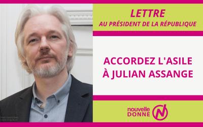 Nouvelle Donne demande à Emmanuel Macron d'accorder l'asile politique au lanceur d'alerte Julian Assange.