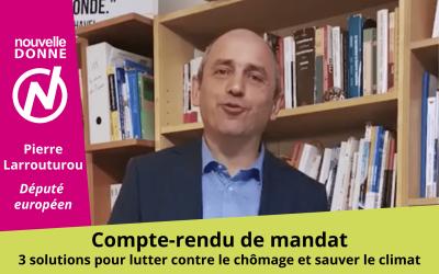 Pierre Larrouturou : un an au parlement européen