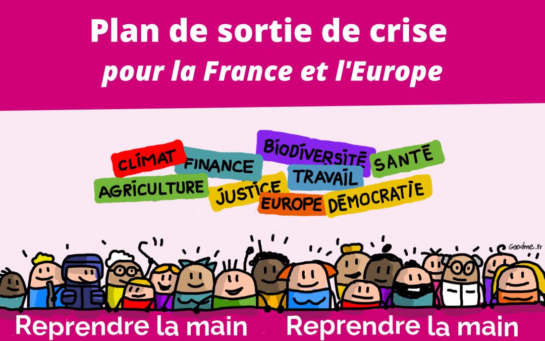 Plan de sortie de crise pour la France et l'Europe