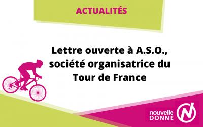 Lettre ouverte de Nouvelle Donne à A.S.O., société organisatrice du Tour de France