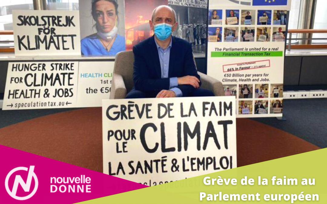 LIVES | Grève de la faim au Parlement européen