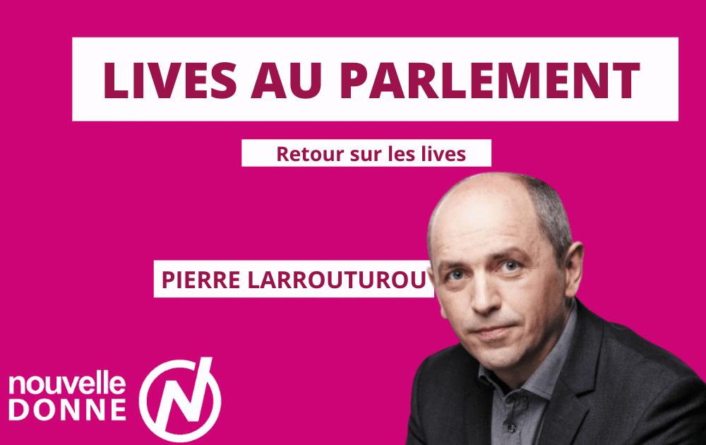 PIERRE LARROUTUROU | Retour sur les lives