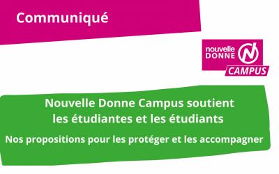 Nouvelle Donne Campus : nos propositions pour soutenir la jeunesse et les étudiants