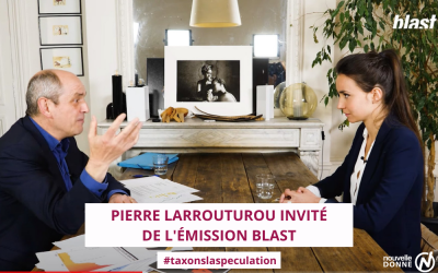 """Pierre Larrouturou dénonce la puissance du lobby bancaire français dans l'émission """"Blast"""""""