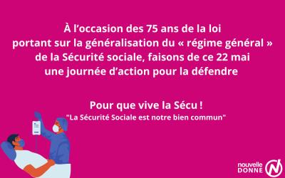 Nouvelle Donne a signé l'appel pour défendre la Sécurité sociale