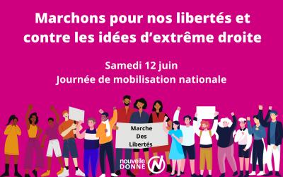 Nouvelle Donne soutient la mobilisation et appelle ses militants à rejoindre la Marche des libertés