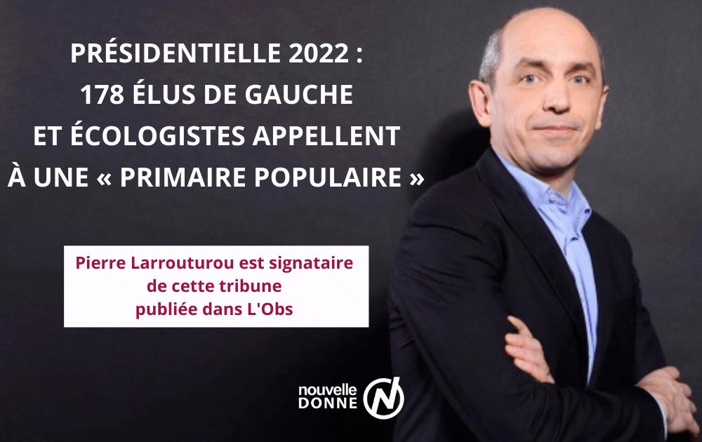 """Pierre Larrouturou, signataire d'une tribune dans l'Obs pour appeler à une """"primaire populaire"""""""