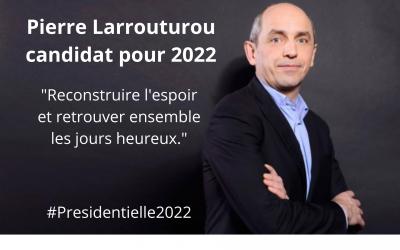 Pierre Larrouturou annonce sa candidature à la Primaire Populaire pour la présidentielle 2022