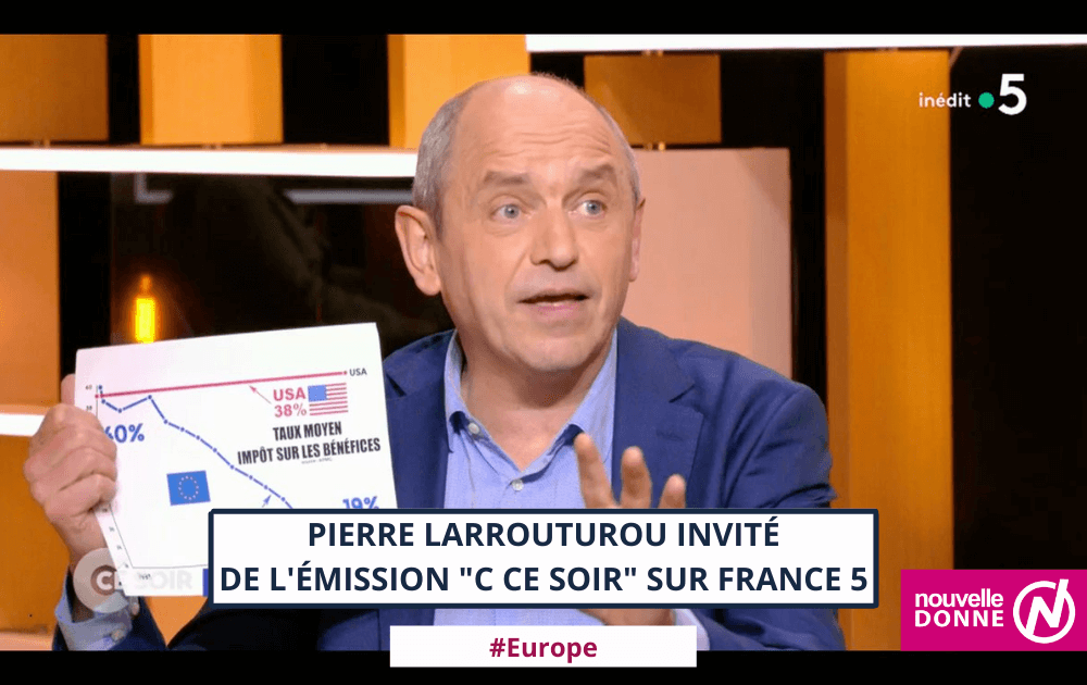 """Histoire et avenir de l'Europe : Pierre Larrouturou invité de l'émission """"C ce soir"""""""