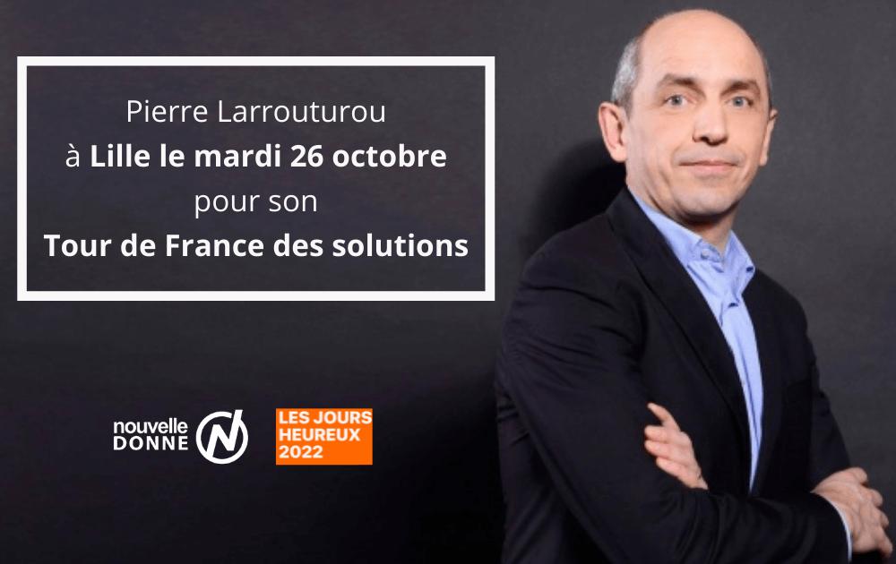 Tour de France des solutions : étape à Lille avec Pierre Larrouturou